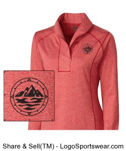 Women's 1/2 Zip Design Zoom
