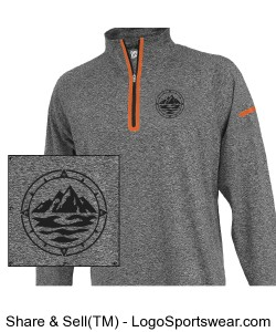 Men's 1/4 Zip Pullover Design Zoom