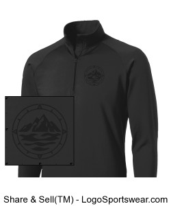 Men's Performance 1/2 Zip Pullover Design Zoom